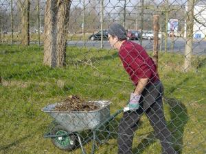 ICE vrijwilliger baanonderhoud